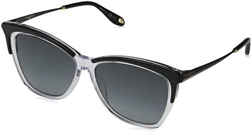 Givenchy Damen GV 7071/S 9O 7C5 57 Sonnenbrille, Schwarz (Black tal/Grey)