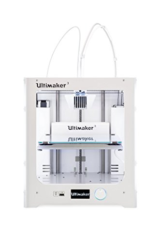 Impresora 3D Ultimaker 3 de doble extrusor
