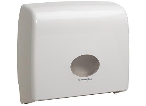 Aquarius* Jumbo non-stop dispenser voor wc-papier 6991 – wit