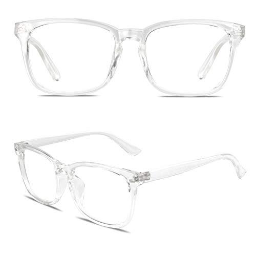 GQUEEN Fake Glasses Frame Fashion Eyeglasses Vintage Retro Non Prescription...