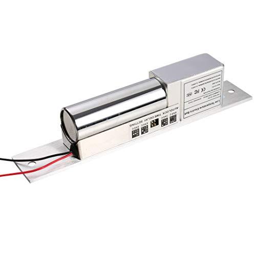 UHPPOTE Baja Temperatura Perno Cerradura Eléctrica Fail Safe NC Modo DC 12V Para Puerta De Madera / Metal De Control Acceso