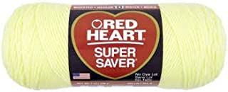 Red Heart Super Saver Yarn-Pale Yellow