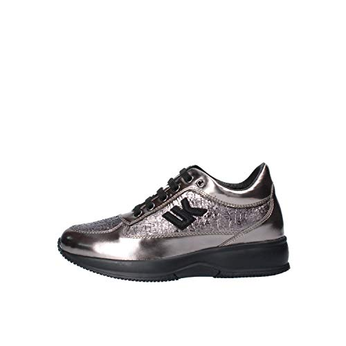 Lumberjack Raul 5, Sneaker Donna, Grigio (Gun Metal Co006), 39 EU