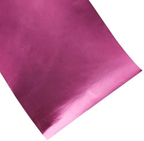 VViViD XPO Pink Magenta Chrome Chevy Bowtie Logo Wrap Kit (2 Rolls (11.8 Inch x 4 Inch))