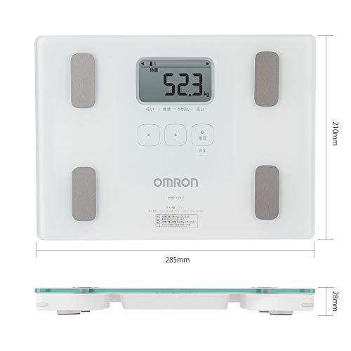 オムロン体重・体組成計カラダスキャンホワイトHBF-212