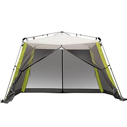 3x3m Pop Up Gazebo, Refugio de Eventos Plegables al Aire Libre Resistente al Aire Libre Impermeable, toldo al Aire Libre con Paredes Laterales, para Boda al Aire Libre de la Fiesta de jardín