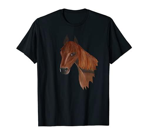 Mit Pferd, Pony unterwegs T-Shirt