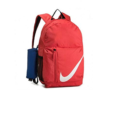 Nike Elemental Backpack 22L Rucksack School Gym Sports Bag Womens Girl Boys Men Red
