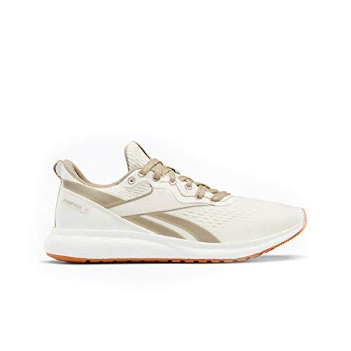 Reebok Men's Forever Floatride Grow Running Shoe - Color: Classic White/Straw/Super Neutral - Size: 7 - Width: Regular