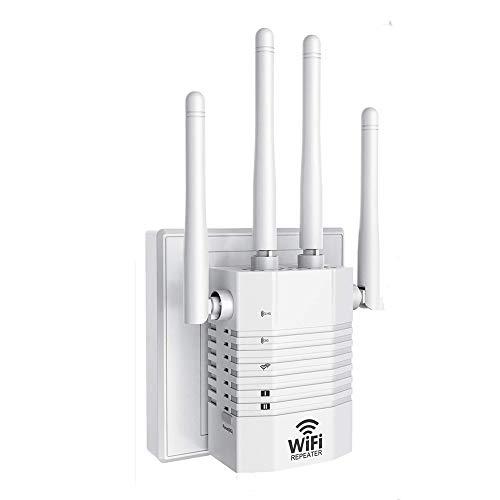 MELODY Ac1200 Dual Band WiFi Range Extender WiFi Booster Range Extender 1200mbps WiFi Range Extender con Puerto LAN Trabajo con Cualquier Router