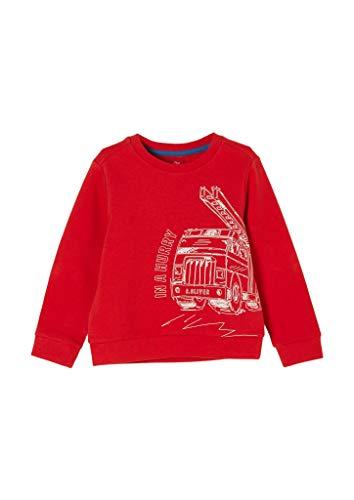 s.Oliver Junior Jungen 404.10.011.14.140.2054459 Sweatshirt, 3118, 104/110.REG