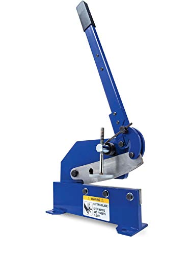 Eastwood 8 in. Bench Shear Throatless Multiple Purpose Bench Top Throatless...