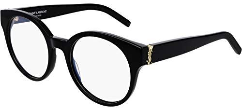 SAINT LAURENT Occhiali da Vista SL M32 BLACK GOLD 51/20/140 donna
