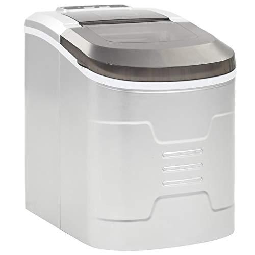 vidaXL Eiswürfelbereiter 2,4 L 15kg/24h Eiswürfelmaschine Eiswürfel Ice Maker