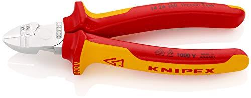 KNIPEX Abisolier-Seitenschneider 1000V-isoliert (160 mm) 14 26 160