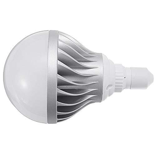 DGDH Bulbos de maíz LED, E27 15W 24W Cáscara de Plata Plateada Blanca Pura LED de Aluminio Bombilla Global AC85-265V Bombilla de iluminación Duradera