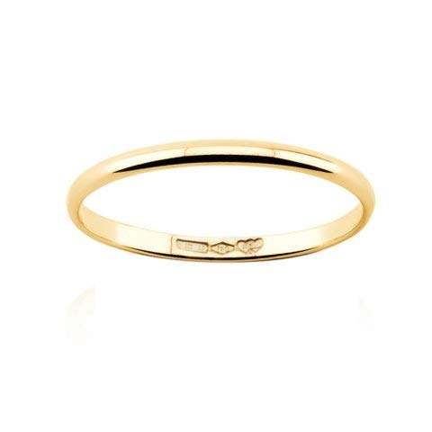Alianza de oro de 18 quilates, 1 g, oro blanco, amarillo, rosa fino, 1,8 mm. Blanco, amarillo, rosa.