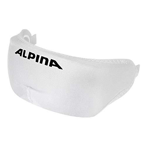 Alpina Unisex– Erwachsene Helmet Visor Cover Visierschutz für Ski- und Snowboardhelm mit Visier, weiß, one Size