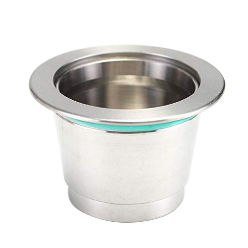 Yongse Metalen navulbare Capsule Pod Voor illy Koffie Nespresso Machine