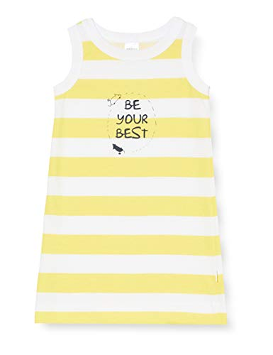 Schiesser Yellow Mouse Nachthemd 0/0 Camicia da Notte, Giallo (Gelb 600), 98 (Taglia Unica: 098) Bambina