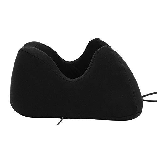 Almohada en forma de U Apta para la piel Cómoda almohada de espuma viscoelástica Duradera para relajar la cabeza durante los viajes para mayor comodidad