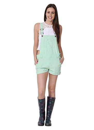 USKEES Anna - Loose Fit Latzshorts Oversized Damen Kurze Bib Shorts ANNAMINT-14