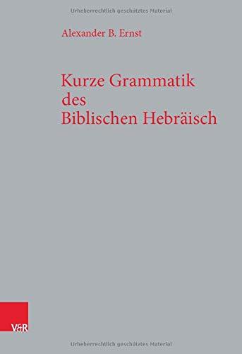 Kurze Grammatik des Biblischen Hebräisch