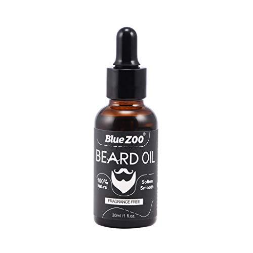 MERIGLARE El Acondicionador de Aceite de Barba Premium Suaviza, Fortalece, Promueve La Barba Y El Bigote - Sin perfume