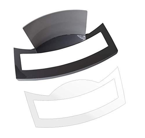 3 x Schutzfolie für Jura E8 - NUR Modell 2020 - EB Modell - Tassenablage, Abtropfblech, Tassenplattform