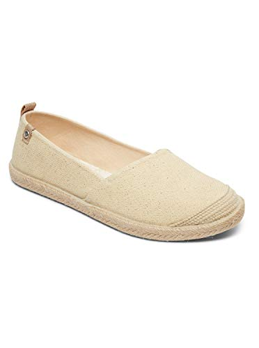 Roxy Damen FLORA Espadrilles, Beige (Wheat We9), 38 EU