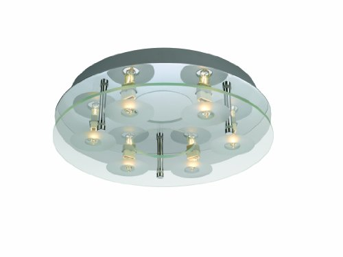 Massive Astrid plafondlamp 6x28W G9 230V chroom