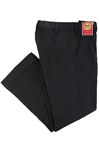 Lange Herren-Thermohosen für den Winter, schwarz Gr. 34W X 29L, schwarz