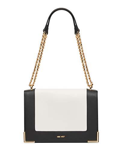 Nine West Women's Yazmina Convertible Shoulder Bag White Size: Mediu