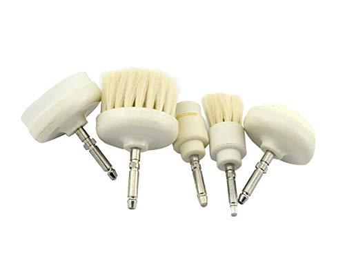 Pièces de rechanges Elitzia brosse rotative électrique visage peau soins instrument est un pinceau visage de grande laine