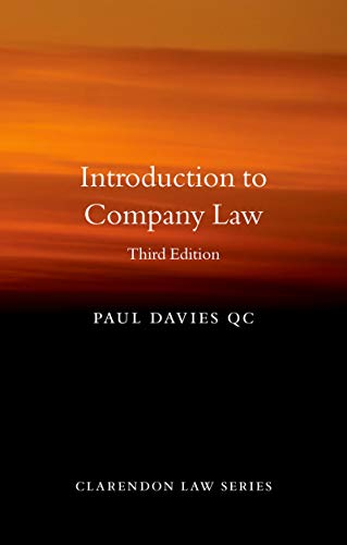 Introduction to Company Law (Clarendon Law Series) (English Edition)