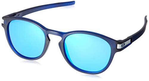 Oakley Latch (A) 9349 Gafas, GRID MATTE TRANSLUCENT BLUEE/PRIZMSAPPHIRE, 53 Hombres