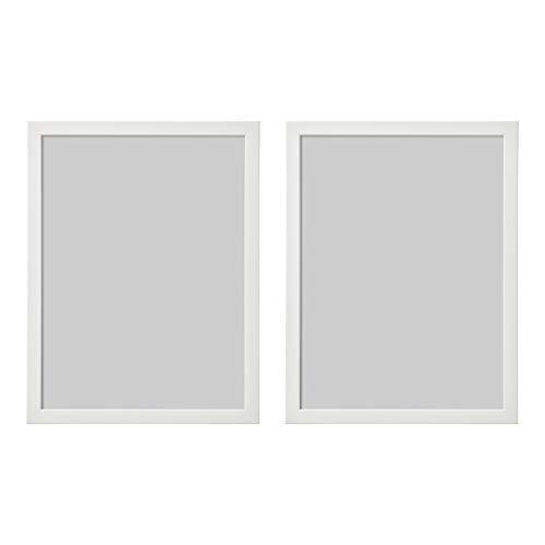 IKEA FISKBO Bilderrahmen, 30 x 40 cm, Weiß, 2 Stück