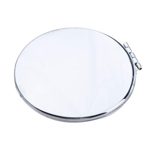 Homyl Miroir de Poche Cœur Portable Cosmétique Compact Miroir de Maquillag - #4
