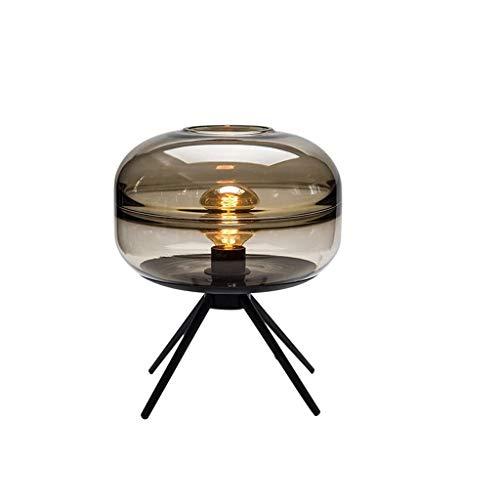 BOWCORE Tafellamp, LED, tafellamp, design van glas, persoonlijkheid, statief, tafellamp voor woonkamer, slaapkamer, nacht hotel, restaurant, woonkamer, decoratie, rond bureaulamp