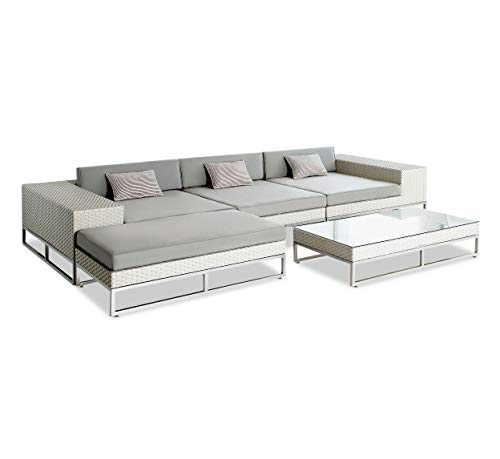 M 5 Piece Sectional. The Ultimate in Powder Coated Aluminum Patio Furniture
