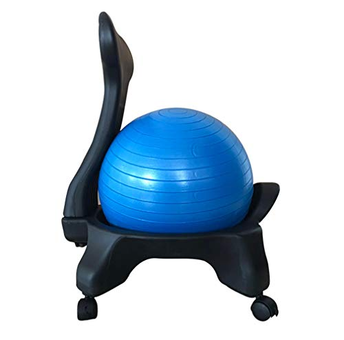 Review Of Unbne Balance Ball Chair Ergonomic Comfort/Stability Balance for Home and Office Desk