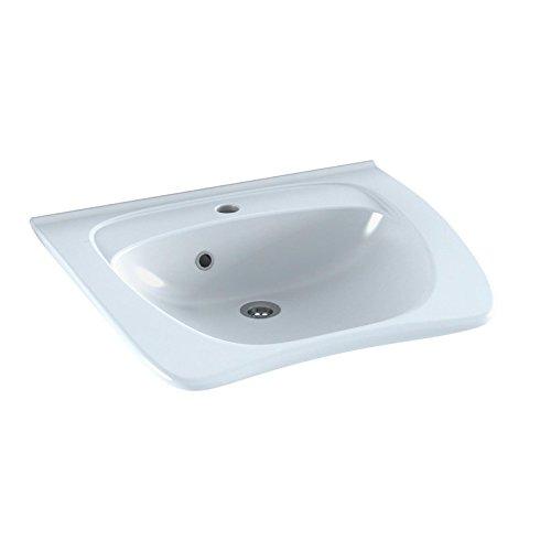 Pressalit R2053 MATRIX ergonomisches Waschbecken Waschtisch barrierefrei behindertengerecht Senioren (60 x 49 x 19 cm) ohne Überlauf