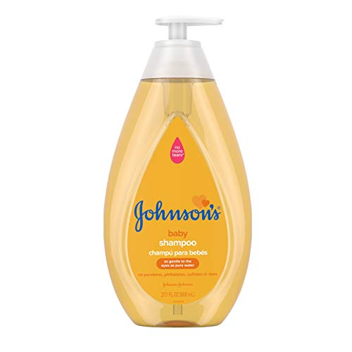 Johnson's Tear Free Baby Shampoo, Free of Parabens, Phthalates, Sulfates and Dyes,...