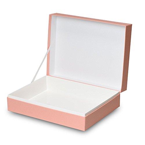【メーカー直送品のため代引不可】高級ギフト箱 貼り箱ALLESシリーズ ヒンジケース1072【ピンク】 30個セット (ギフトボックス お菓子 贈答用 箱 菓子箱 化粧箱)