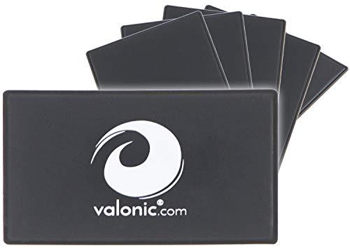 RFID Blocker Karte | extra dünn | 6 x RFID Schutz | RFID NFC Schutz | RFID Blocking Card | Schutzkarte | schwarz