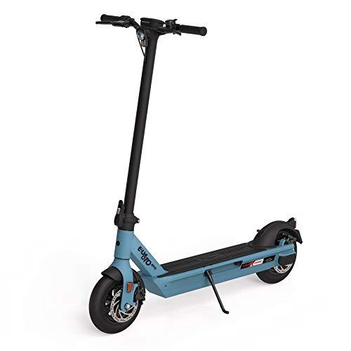 Govecs ELMOTO KICK E-Scooter mit Straßenzulassung (blau, max. 20 km/h, bis zu 20 km Reichweite, ab 14 Jahre, 2x18 V, max. 450 W, Power X-Change System von Einhell)