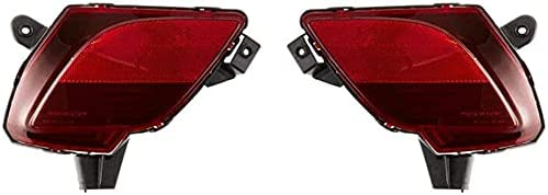 US Warehouse-BOERLKY Max 61% OFF Auto Replacement PAIR Ranking TOP3 REFLECTOR LIGHTS C OF