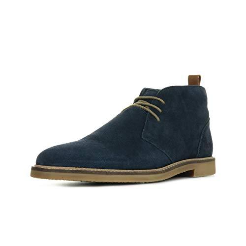 Kickers Tyl, Zapatos de Cordones Derby para Hombre, Azul (Marine Perm 10), 43 EU