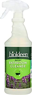 Biokleen Bac-Out Bathroom Cleaner - 32 Ounce -Eco-Friendly, Non-Toxic, Plant-Based, No Artificial Fragrance, Colors or Preservatives