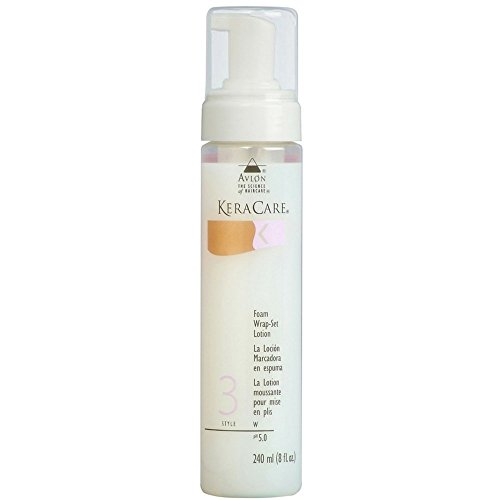 Kera Care Foam Wrap-Set Lotion 8 oz